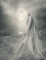 White Lady (ghost) by CrisestepArt