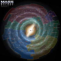 Mass Effect Galaxy Map 3.5 by DWebArt