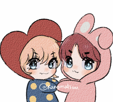 COOKY and TATA by Kanomatsu