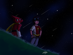 The General and the King in the night by TheZoe611