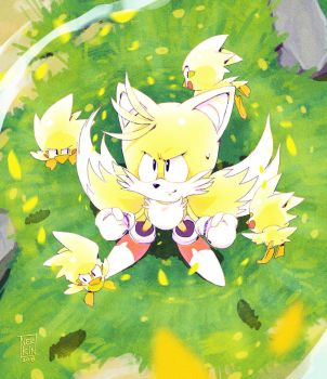 Super Tails by Nerkin