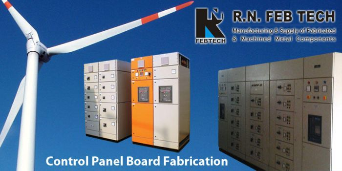 Control Panel Board Fabrication by rnfebtechindia