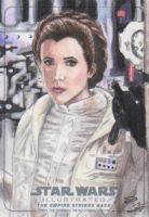 Star Wars Illustrated: TESB - Leia by DenaeFrazierStudios