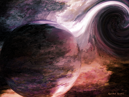 Black Hole by Nigel-Hirst