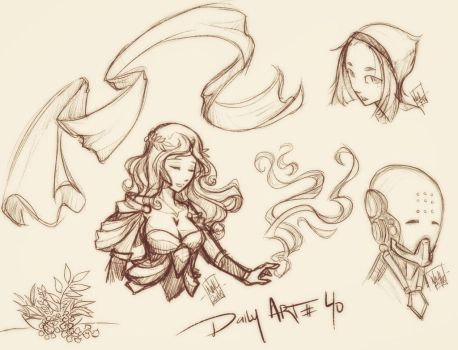 Daily Art #40 by fenrier