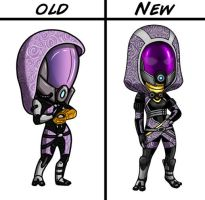 New Tali Chibi Design by Red-Flare