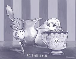 02 :: Death in a cup by VoxGraphicaStudio