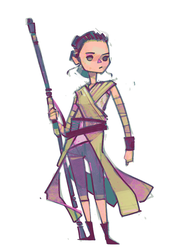 Rey-a-Day 40 by michaelfirman