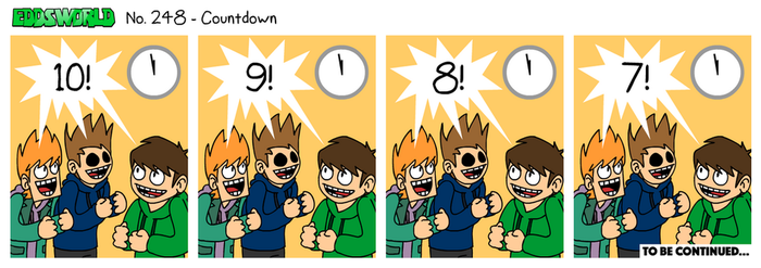 EWCOMIC No. 248 - Countdown by eddsworld