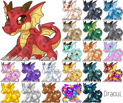 Prishu: The Dracul, all colors by cometkinsart