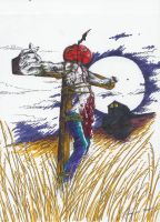 Death of Scarecrow by ravenofsorrows