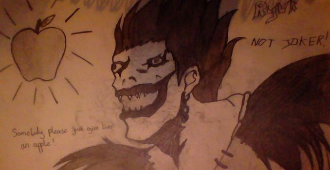Death Note Ryuk by Element115Infection