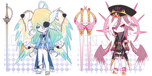 [SET PRICE|CLOSE]SUMMER SHOWER_ORCHID PINK by krianart