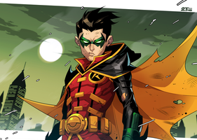 Teen Titan Robin by Nib2T