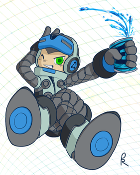 Mighty No. 9 Beck by PangoRadio
