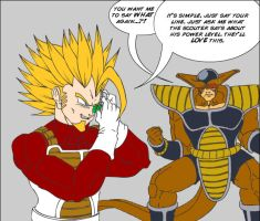 tribute is over 9000 by Fonzu