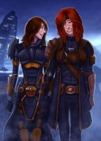 SWtoR - Commission - Kiakiri + Rosaleen by JoJollyArt