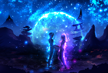 Connected Universe by ryky