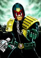 Judge Dredd is watching you by Robert-Shane