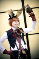 Steampunk AiW: March Hare by XiaoBai