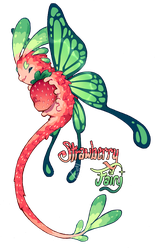 [Closed] Strawberry Fairy Pacapillar Auction by toripng