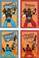 TF2 Postcards - Pt 4 by ryuuza-art