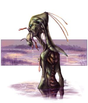 Swamp Nymph by Vincent-Covielloart