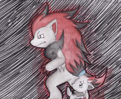 .:Stand Beside:. by Red-head-girl
