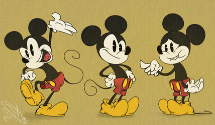 Mickey Mouse! by POB-DAWG