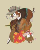 chip and dale by kuri