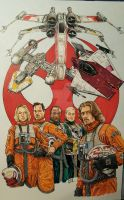 Star Wars Rogue One Rebel Pilots by sithlord151