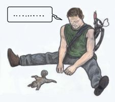 Daryl stretching by gagambo