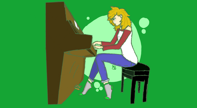 Playing Alone- Maggie by ponyplay09