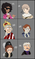 Expression Meme - Historical Version by Woofies2003