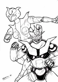 mazinger z coloring pages - photo#7