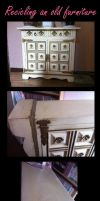 Recicled furniture (making of) by Ishtar-Creations