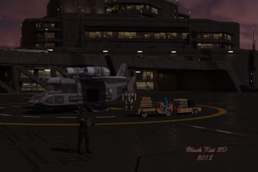 Weapons Facility by black-kat-3d