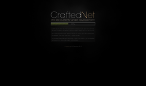 CraftedNet Development Page by ZafireHD