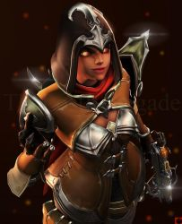 Demon Hunter Sombra by TheLostRenegade