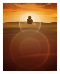 BB-8 'Where Do You Come From?' by AndyFairhurst