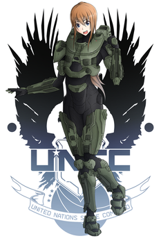 Sam (Halo Crossover) by AftermaThXCVII