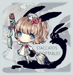 [CLOSED] Adoptable: Magic Paintbrush by Staccatos