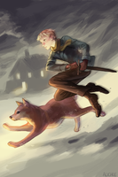 SS - A boy and his dog by alizawren
