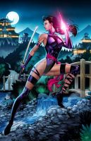 Psylocke Colors by SaviorsSon