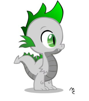 my oc Fuszion Blast as a baby dragon by hardstyleravers