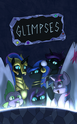 Glimpses Cover Art - COM (All Valcron) by PenStrokePony