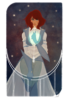 Commission Tarot Card by AlexielApril