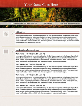 Creative Resume - Open Path by rkaponm