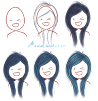 Hair tutorial? by Octish