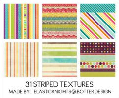 31 Striped Textures by arapax